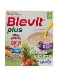 BLEVIT PLUS DUPLO 8 CER FRUTAS 600 GR