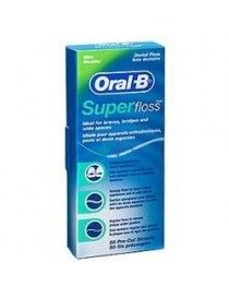 ORAL B SEDA DENTAL SUPER FLOSS 50M