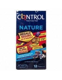 PROFILACTICOS CONTROL ADAPTA NATURE 12UN
