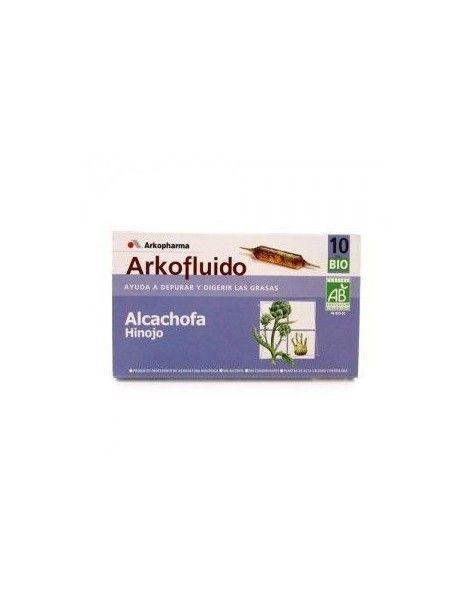 ARKOFLUIDO ALCACHOFA-HINOJO 10 AMP