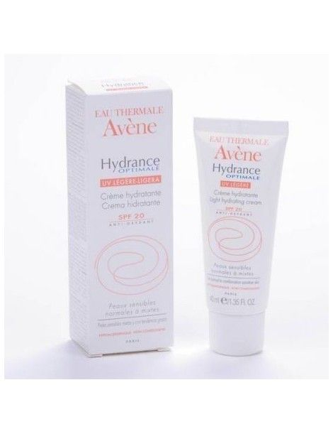 HYDRANCE OPTIMAL LIGERA SPF 20 AVENE 40 ML