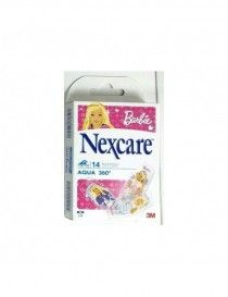 NEXCARE AQUA STRIPS BARBIE 360 14 UN