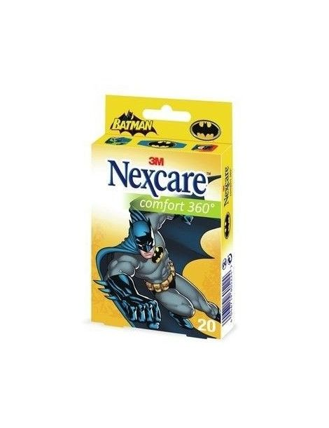 NEXCARE TIRAS INFANTIL BATMAN 20 TIRAS