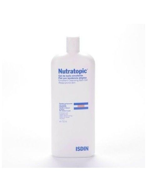 NUTRATOPIC GEL BAÑO EMOLIENTE 750 ML
