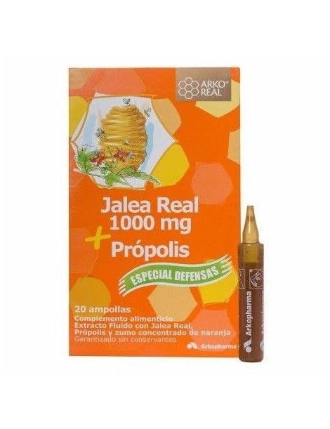 ARKOREAL JALEA REAL PROPOLIS 20 AMP