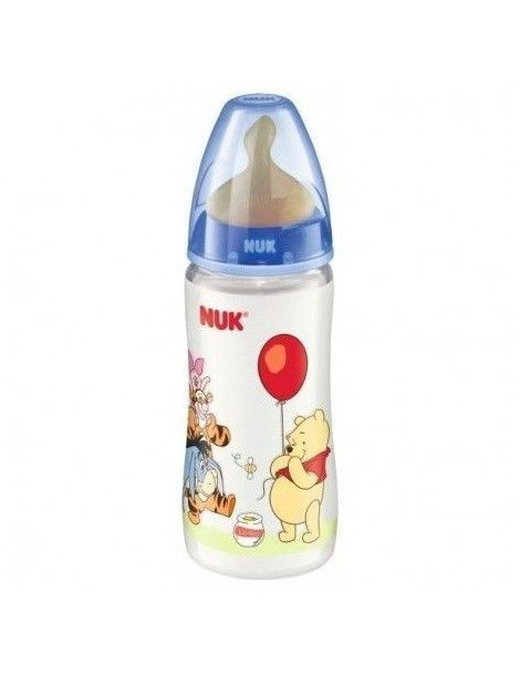 BIBERON NUK FC PP DISNEY LATEX 300ML 1M