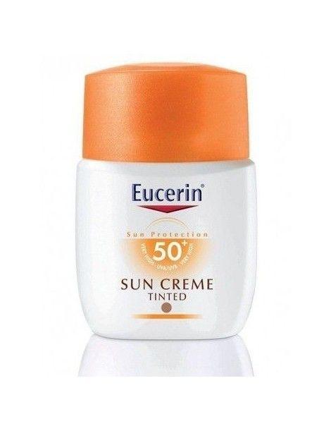 EUCERIN SOLAR CREMA COLOR SPF 50+ 50ML