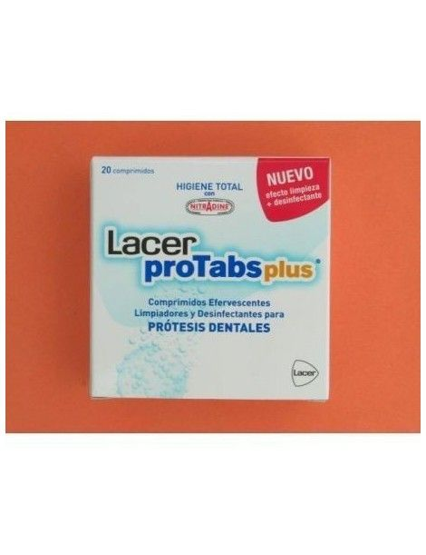 LACER PROTABS PLUS PROTES DENTAL20 COMP