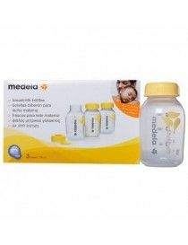 MEDELA PACK BOTELLA BIB 150ML 3UN