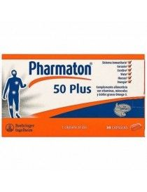 PHARMATON 50 PLUS 30 CAP