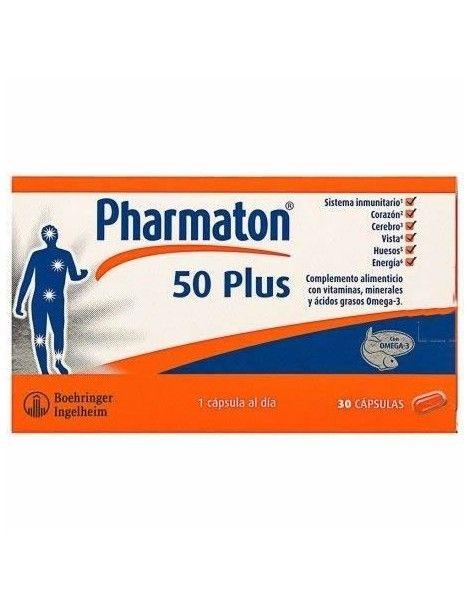 PHARMATON 50 PLUS 30 CAP