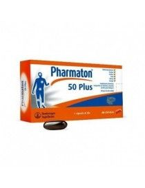 PHARMATON 50 PLUS 60 CAP