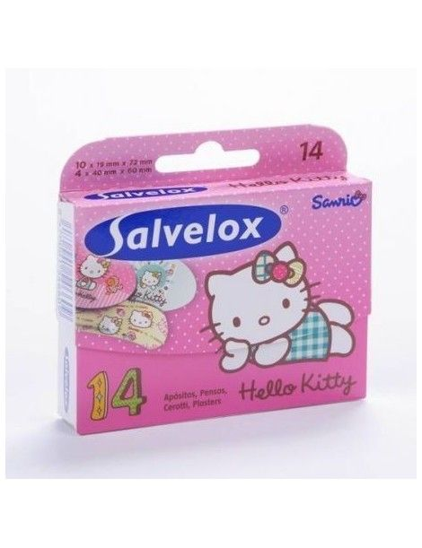 SALVELOX HELLO KITTY APOSI 14UN SURTID