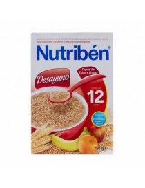 NUTRIBEN DESAYUNO COPOS TRIGO FRUT 750GR
