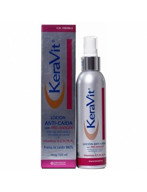 KERAVIT LOCION ANTI-CAIDA SPRAY 125 ML