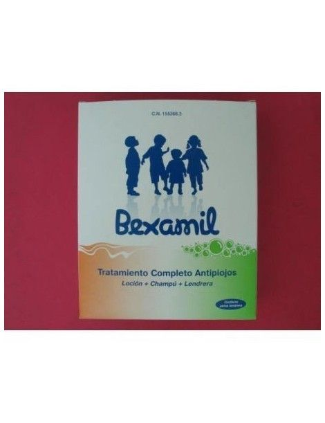 BEXAMIL PACK COMPLETO PEDICULICIDA