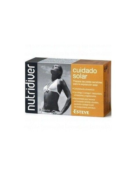 NUTRIDIVER CUIDADO SOLAR 30 CAPSULAS
