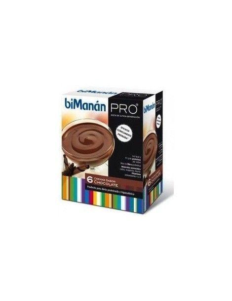 BIMANAN PRO CREMA CHOCOLATE 6 UNI