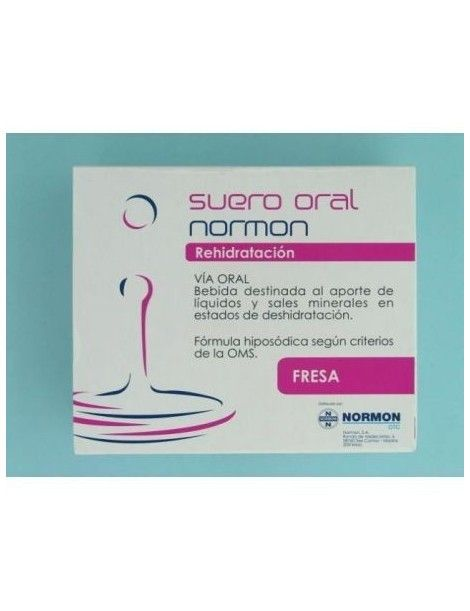 SUERO ORAL NORMON FRESA 2BRICKSX250