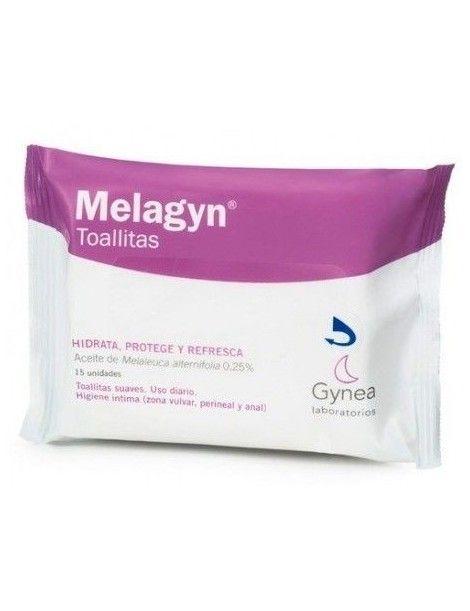 MELAGYN TOALLITAS FLOW PACK 15 UN