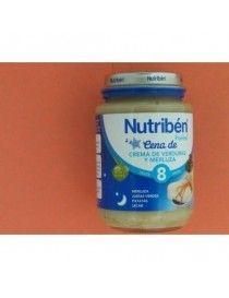 NUTRIBEN CENA CREMA VERD MERLUZA 200 GR