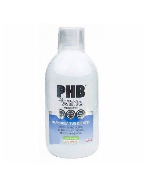 PHB WHITE ENJUAGUE BUC 500 ML 4400
