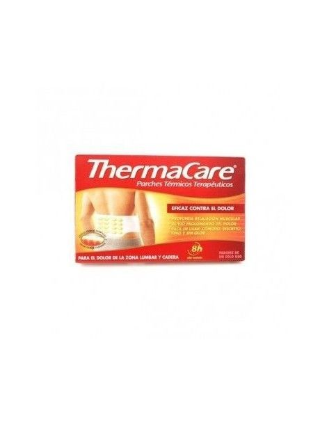 THERMACARE PARCHES LUMBAR Y CADERA 2 UNI