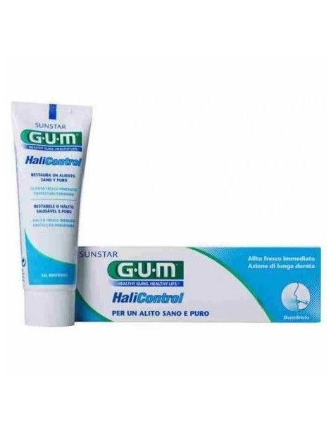 GUM HALICONTROL GEL DENTIFRICO 75 ML