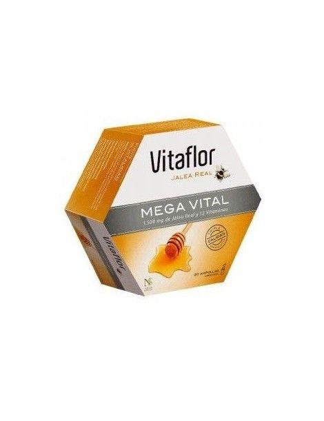 VITAFLOR MEGA VITAL 20 VIALES