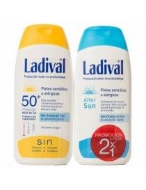 DUPLO LADIVAL PIEL SENSIBLE Y ALERGICA 200 ML + AFTER SUN