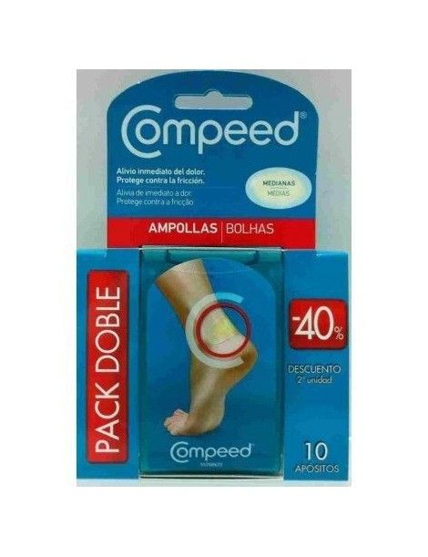 COMPEED AMPOLLAS MEDIANO DUPLO