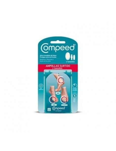 COMPEED PACK MIXTO AMPOLLAS SURTIDO 3TÑO