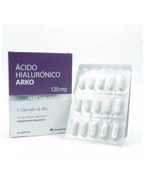 ARKO ACIDO HIALURONICO 30 CAP