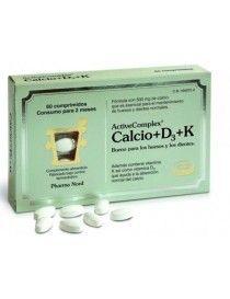 ACTIVE COMPLEX CALCIO+D3+K 60 COMP