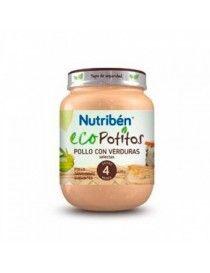 NUTRIBEN ECOPOTITO POLLO/VERD 130 GR