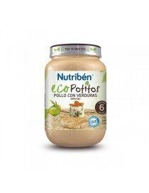NUTRIBEN ECOPOTITO POLLO/VERD 200 GR