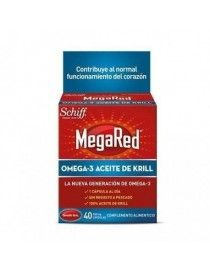 MEGARED 500 MG 40 CAP