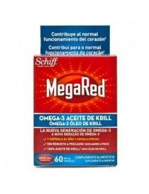 MEGARED 500 MG 60 CAP