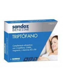 SANDOZ BIENESTAR TRIPTOFANO 30 CAP