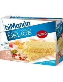 BIMANAN DELICE 10 CRACKERS S/PIZZA