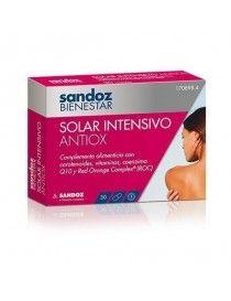 SANDOZ BIENESTAR SOLAR INTENSIVO ANTIOXIDANTE