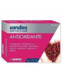 SANDOZ BIENESTAR ANTIOXIDANTE 30 CAP
