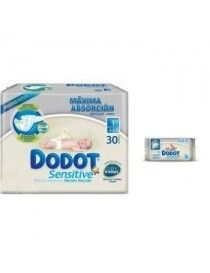 TOALLITAS DODOT ACTIVITY RECAM.DOBLE 108