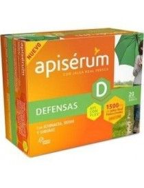 APISERUM DEFENSAS 20 VIALES 10 ML