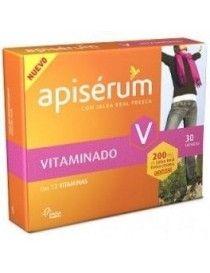 APISERUM VITAMINADO 30 CAP