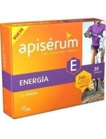 APISERUM ENERGIA GINSENG 30 CAP
