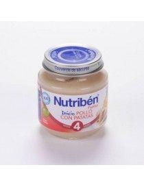 NUTRIBEN INICIO POLLO CON PATATAS 130 GR