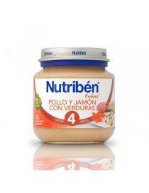 NUTRIBEN INICIO POLLO JAM VERD 130 G