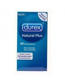 PROFILACTICOS DUREX NAT PLUS EASY 24