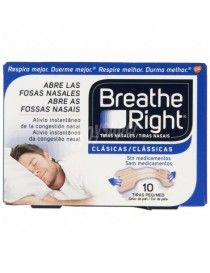 TIRAS NASAL BREATH RIGHT PEQ 10 UN